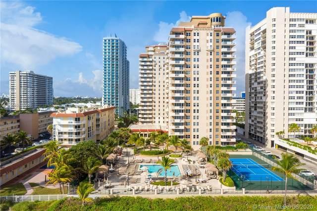 1920 S Ocean Dr 9B, Hallandale Beach, FL 33009 (MLS #A10876095) :: Berkshire Hathaway HomeServices EWM Realty