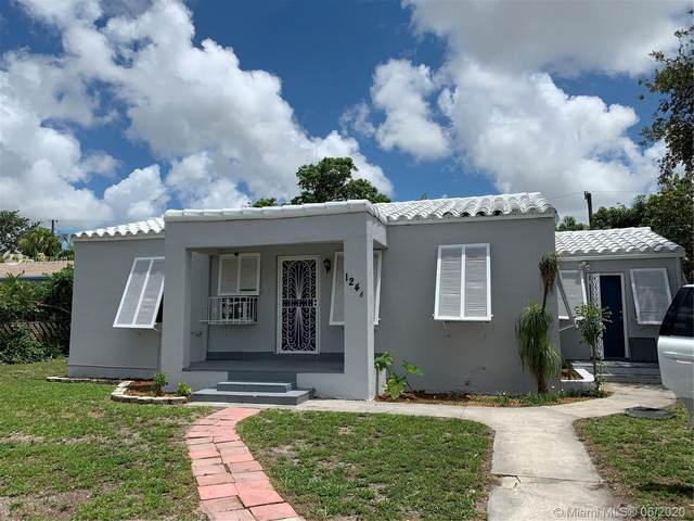 1246 Dunad Ave, Opa-Locka, FL 33054 (MLS #A10876111) :: Berkshire Hathaway HomeServices EWM Realty