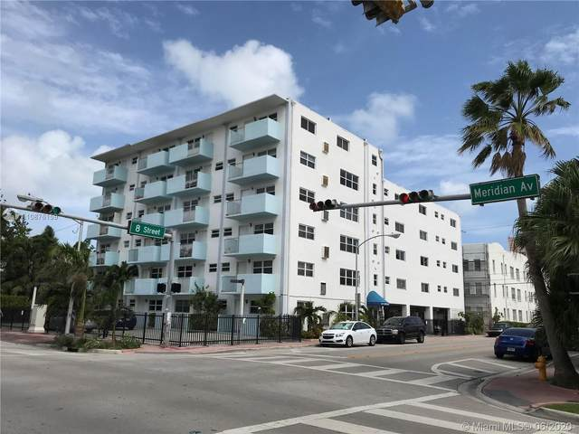 801 Meridian Ave 1B, Miami Beach, FL 33139 (MLS #A10876159) :: Prestige Realty Group