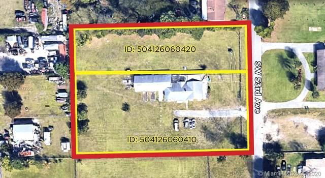 4111 SW 53rd Ave, Davie, FL 33314 (MLS #A10877225) :: The Rose Harris Group