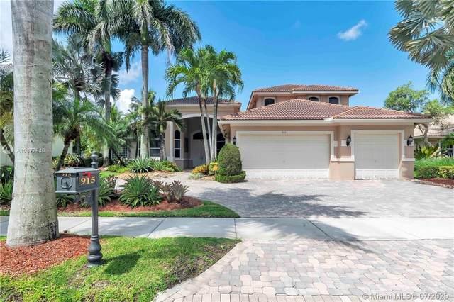 915 Tradewinds Bnd, Weston, FL 33327 (MLS #A10877940) :: Berkshire Hathaway HomeServices EWM Realty