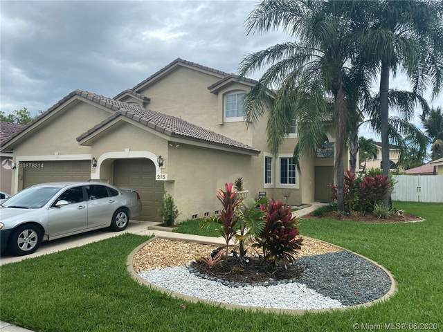 215 SW 180th Ave, Pembroke Pines, FL 33029 (MLS #A10878314) :: The Jack Coden Group