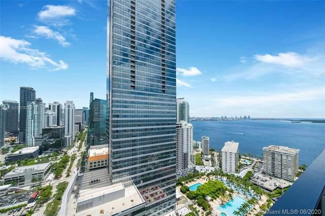 1451 Brickell Ave #3802, Miami, FL 33131 (MLS #A10878359) :: Berkshire Hathaway HomeServices EWM Realty