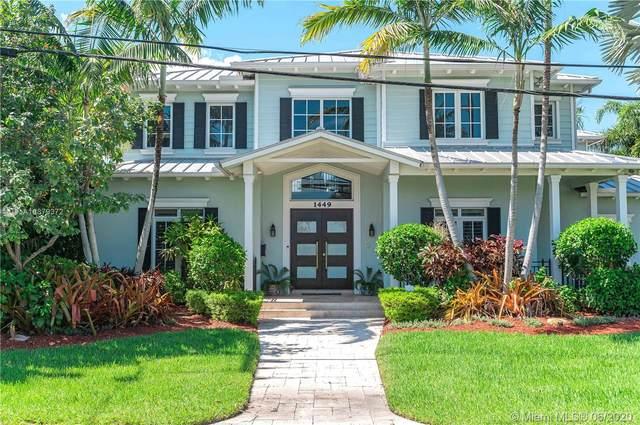 1449 SE 13th St, Fort Lauderdale, FL 33316 (MLS #A10879372) :: Laurie Finkelstein Reader Team