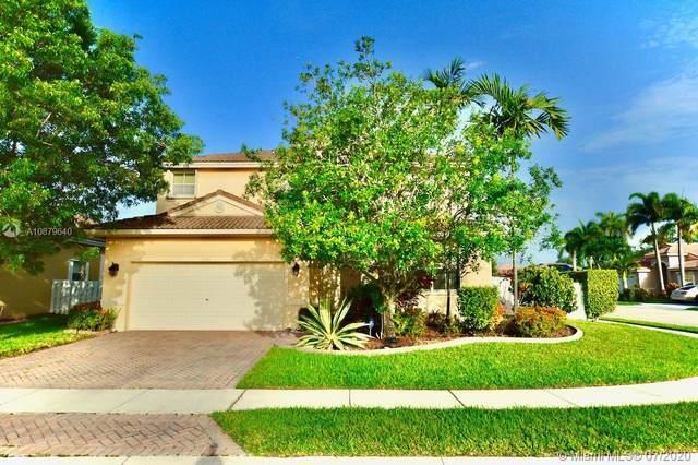 1506 SW 186th Ln, Pembroke Pines, FL 33029 (MLS #A10879640) :: Green Realty Properties