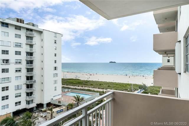 345 Ocean Dr #721, Miami Beach, FL 33139 (MLS #A10880400) :: The Howland Group