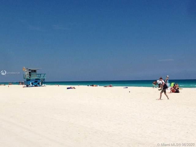 6450 E Collins Ave #205, Miami Beach, FL 33141 (MLS #A10880726) :: Castelli Real Estate Services