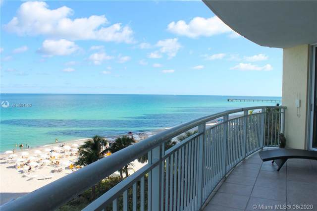 17375 Collins Ave #601, Sunny Isles Beach, FL 33160 (MLS #A10881352) :: The Jack Coden Group