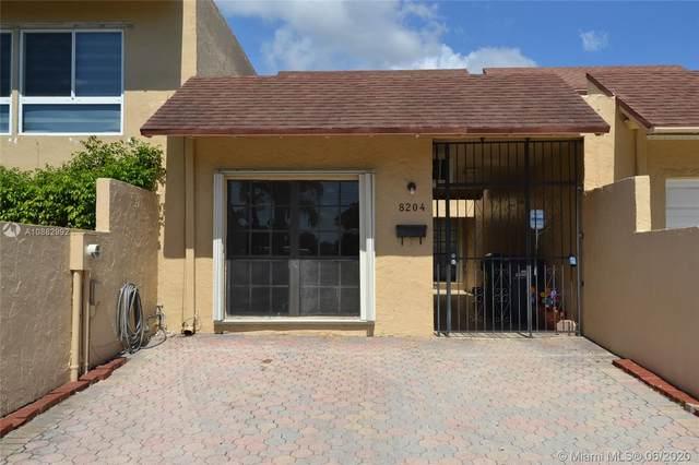 8204 SW 103rd Ave #8204, Miami, FL 33173 (MLS #A10882992) :: Berkshire Hathaway HomeServices EWM Realty