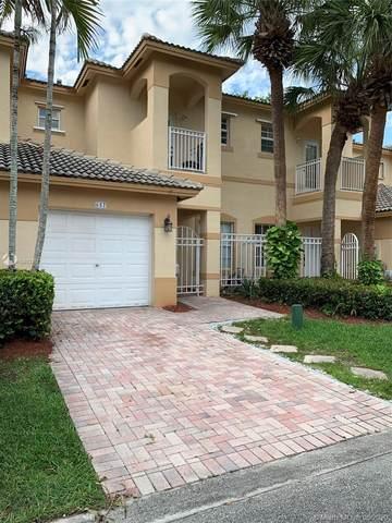 657 NW 170th Ter, Pembroke Pines, FL 33028 (MLS #A10883367) :: Green Realty Properties
