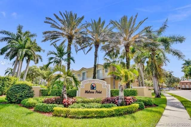 12848 SW 31st Ct #101, Miramar, FL 33027 (MLS #A10883907) :: Berkshire Hathaway HomeServices EWM Realty