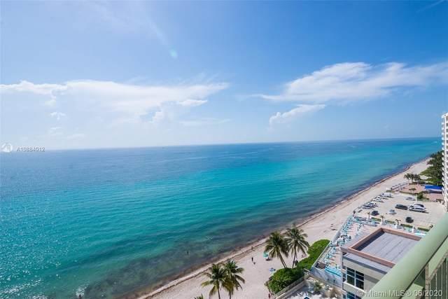 2080 S Ocean Dr #1411, Hallandale Beach, FL 33009 (MLS #A10884012) :: Berkshire Hathaway HomeServices EWM Realty
