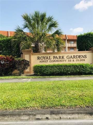 6570 Royal Palm Blvd 204J, Margate, FL 33063 (MLS #A10884080) :: Berkshire Hathaway HomeServices EWM Realty