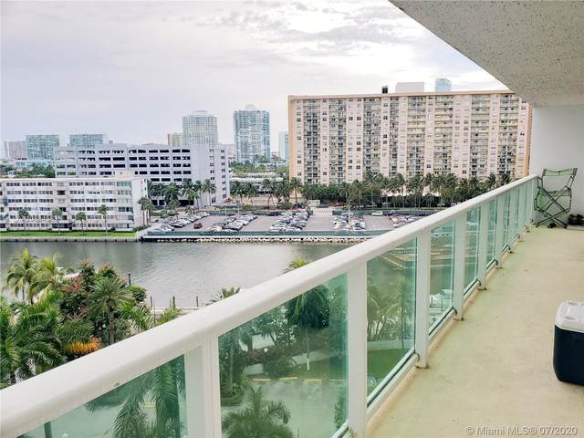 100 Bayview Dr #803, Sunny Isles Beach, FL 33160 (#A10884582) :: Real Estate Authority