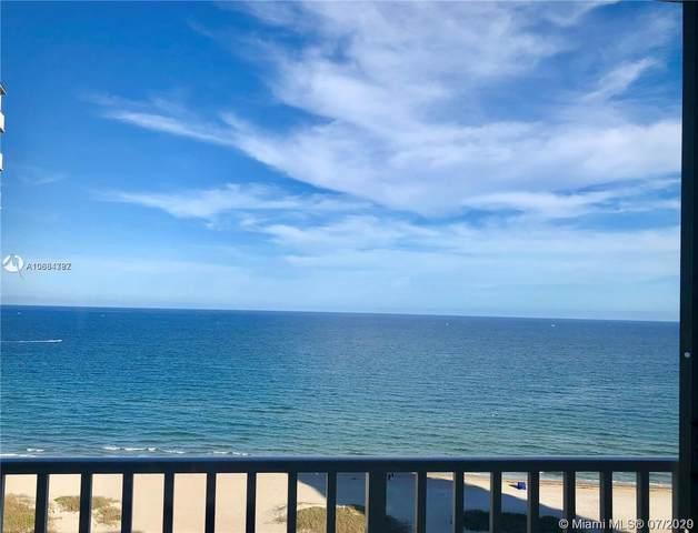 750 N Ocean Blvd #1507, Pompano Beach, FL 33062 (MLS #A10884787) :: United Realty Group