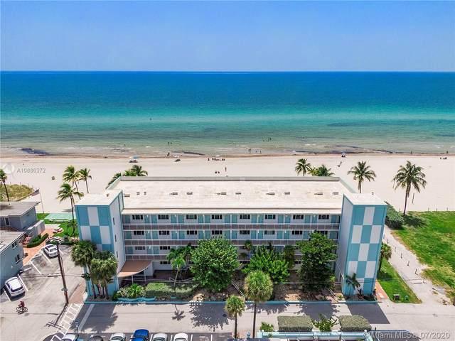 1801 S Surf Rd 3I, Hollywood, FL 33019 (MLS #A10886372) :: Berkshire Hathaway HomeServices EWM Realty