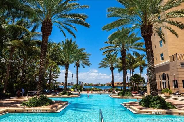 17100 N Bay Rd #1807, Sunny Isles Beach, FL 33160 (MLS #A10886412) :: The Teri Arbogast Team at Keller Williams Partners SW
