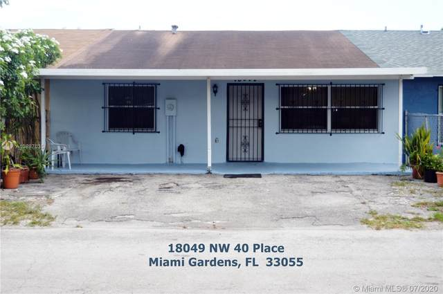18049 NW 40th Pl, Miami Gardens, FL 33055 (MLS #A10887035) :: Grove Properties