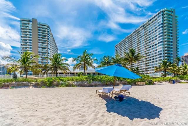1985 S Ocean Dr 10G, Hallandale Beach, FL 33009 (MLS #A10887281) :: Castelli Real Estate Services