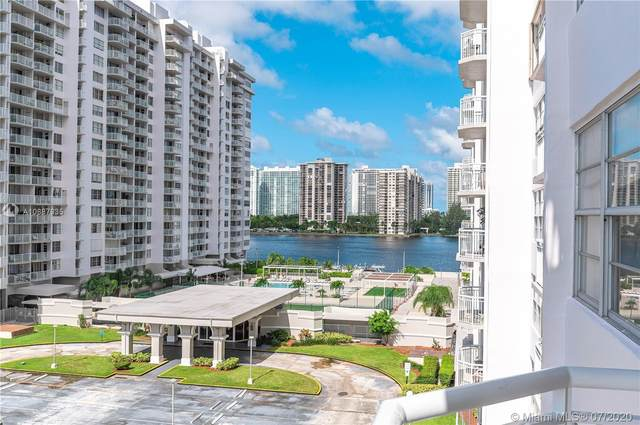 18011 Biscayne Blvd #602, Aventura, FL 33160 (MLS #A10887935) :: United Realty Group