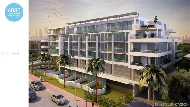 6080 Collins Ave #609, Miami Beach, FL 33140 (MLS #A10888452) :: Julian Johnston Team
