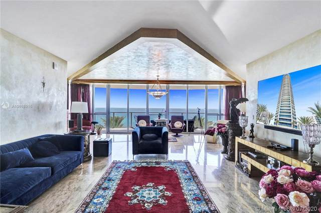 3101 S Ocean Dr #508, Hollywood, FL 33019 (MLS #A10888915) :: The Howland Group