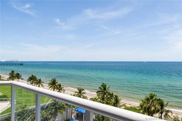 6001 N Ocean Dr #701, Hollywood, FL 33019 (MLS #A10888996) :: Green Realty Properties