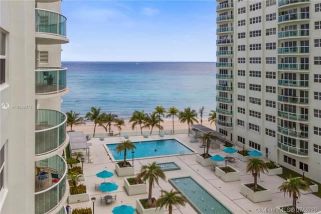 3410 Galt Ocean Dr 710N, Fort Lauderdale, FL 33308 (MLS #A10889073) :: Green Realty Properties