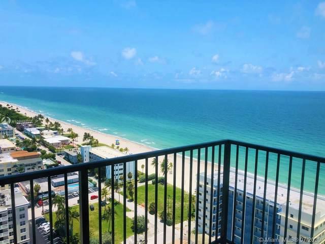 2101 S Ocean Dr #2204, Hollywood, FL 33019 (MLS #A10889277) :: Berkshire Hathaway HomeServices EWM Realty