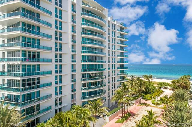 9401 Collins Ave #404, Surfside, FL 33154 (MLS #A10889389) :: Miami Villa Group