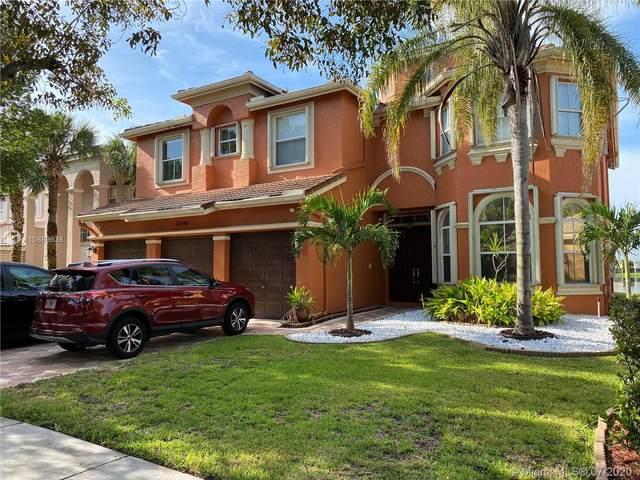 15844 SW 52nd St, Miramar, FL 33027 (MLS #A10889638) :: Berkshire Hathaway HomeServices EWM Realty