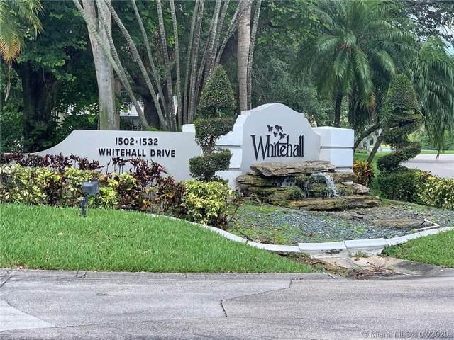 1502 Whitehall Dr #401, Davie, FL 33324 (MLS #A10889717) :: Green Realty Properties