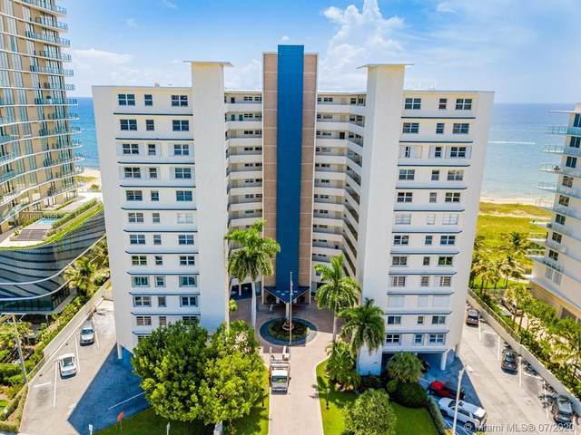 710 N Ocean Blvd #205, Pompano Beach, FL 33062 (MLS #A10890359) :: Castelli Real Estate Services