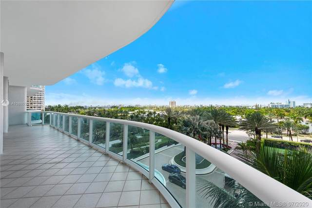 10101 Collins Ave 6A, Bal Harbour, FL 33154 (MLS #A10890392) :: GK Realty Group LLC