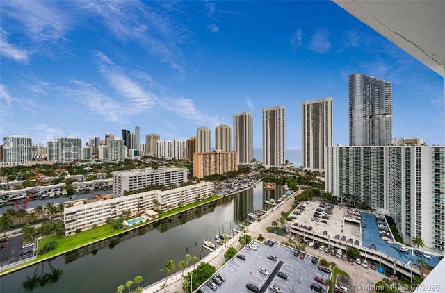 300 Bayview Dr Ph11, Sunny Isles Beach, FL 33160 (MLS #A10890508) :: The Pearl Realty Group