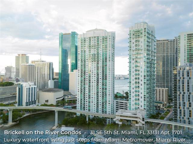 31 SE 5th St #1701, Miami, FL 33131 (MLS #A10890560) :: GK Realty Group LLC