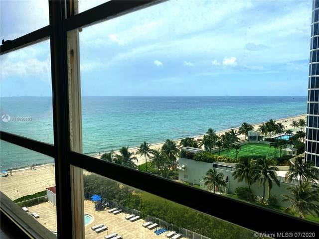 19201 Collins Ave #708, Sunny Isles Beach, FL 33160 (MLS #A10890592) :: Miami Villa Group