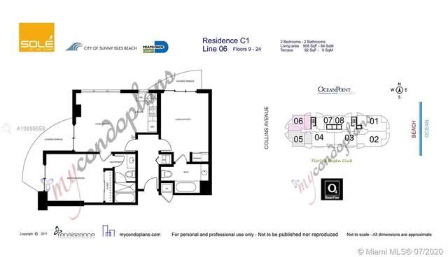 17315 Collins Ave 1106A & 1106B, Sunny Isles Beach, FL 33160 (MLS #A10890658) :: Miami Villa Group