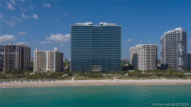 10201 Collins Ave #1807, Bal Harbour, FL 33154 (MLS #A10890668) :: Miami Villa Group