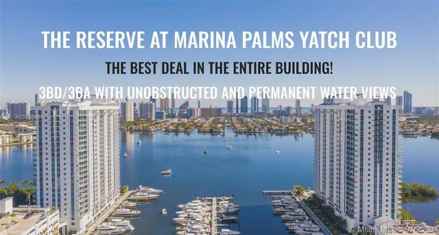 17111 Biscayne Blvd #1004, North Miami Beach, FL 33160 (MLS #A10890684) :: Green Realty Properties