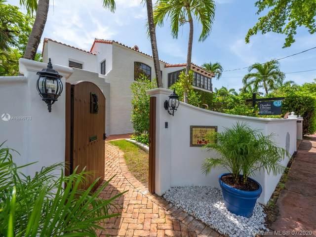 5242 Pine Tree Dr, Miami Beach, FL 33140 (MLS #A10890733) :: Berkshire Hathaway HomeServices EWM Realty
