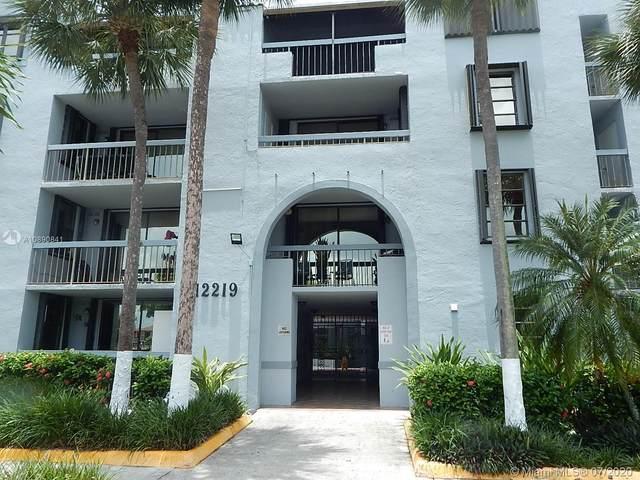 12219 SW 14th Ln #2311, Miami, FL 33184 (MLS #A10890841) :: Berkshire Hathaway HomeServices EWM Realty