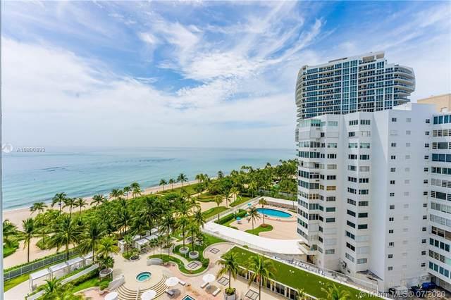 10275 Collins Ave #1015, Bal Harbour, FL 33154 (MLS #A10890893) :: Miami Villa Group