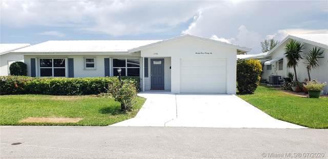 2396 SW 13th Ave, Boynton Beach, FL 33426 (MLS #A10891069) :: The Howland Group
