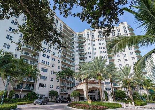 19900 E Country Club Dr #318, Aventura, FL 33180 (MLS #A10891114) :: Ray De Leon with One Sotheby's International Realty
