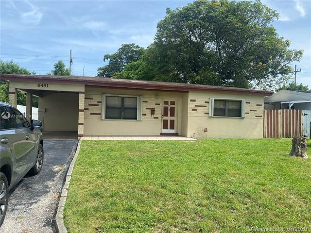 6451 SW 30th St, Miramar, FL 33023 (MLS #A10891189) :: Green Realty Properties