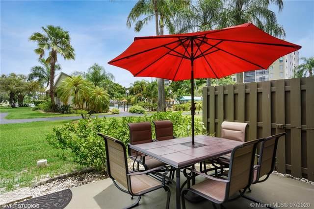 2205 S Cypress Bend Dr #101, Pompano Beach, FL 33069 (MLS #A10891324) :: Green Realty Properties