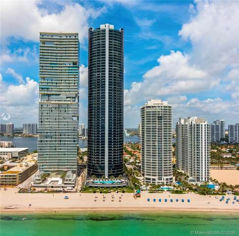 18555 Collins Ave #4405, Sunny Isles Beach, FL 33160 (MLS #A10891333) :: Green Realty Properties