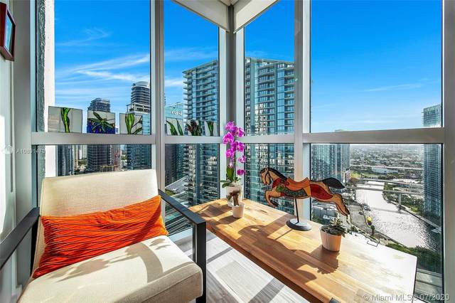 55 SE 6th St #3802, Miami, FL 33131 (MLS #A10891470) :: Prestige Realty Group