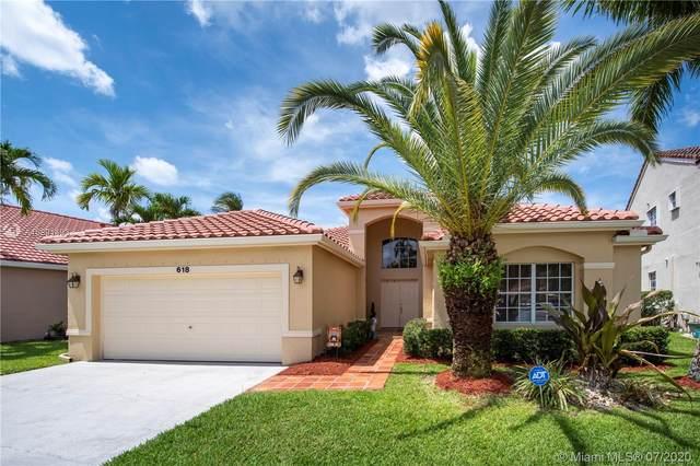 618 Cambridge Ter, Weston, FL 33326 (MLS #A10891493) :: Berkshire Hathaway HomeServices EWM Realty